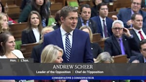 Scheer Announces He's Stepping Down As Tory Leader