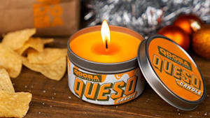 Give the smell of cheese with Qdoba's queso candle