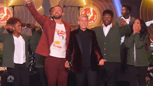 Justin Timberlake makes Christmas wish come true