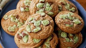 Mint Aero Cookies
