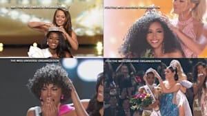 Four black women hold titles of 4 major pageants