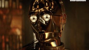 Anthony Daniels on Star Wars trailer: 'It got me'