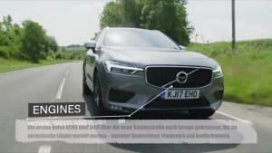 Erste Volvo XC60 kommen über die neue Seidenstraße nach Europa