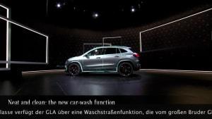 Die neue Mercedes-Benz GLA Edition - Waschfunktion