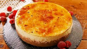 Crème Brulee Cheesecake Recipe