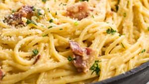 20-Minute Spaghetti Carbonara