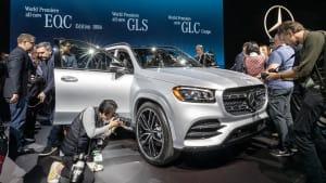 New York Auto Show: Weltpremiere des Mercedes GLS und mehr