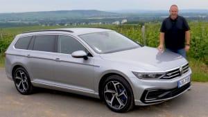 VW Passat GTE 2019 - Facelift für den Plug-In-Hybrid