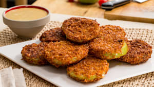 Fried Green Tomatoes with Tartar Sauce