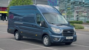 This is the updated Ford Transit