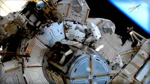 Urgent Spacewalk Turns Into Historical Moment For NASA