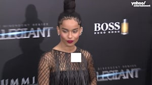 Zoe Kravitz is cast as Catwoman and stepdad Jason Momoa couldn't be prouder
