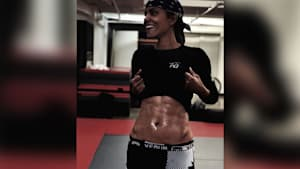 Halle Berry, 53, shows off rock-hard abs on Instagram