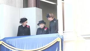 Kate Middleton and Meghan Markle Attend Remembrance Day Service
