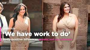 Plus-size influencer Katie Sturino faces harsh criticism after re-creating Meghan Markle's looks