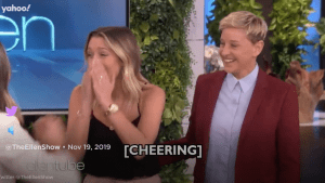 Ellen's surprise proposal for lesbian couple