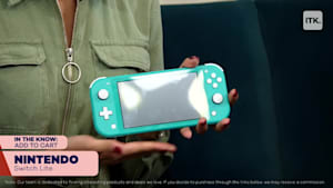 The Nintendo Switch Lite is the hot gaming console this season
