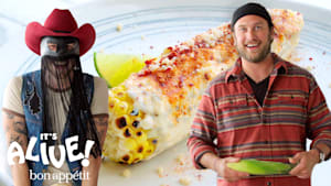 Brad and Orville Peck Make Elote
