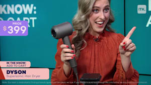 This modern, lightweight hairdryer from Dyson will totally transform your hair routine!