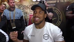"Joshua: ""It's brilliant when a plan comes together""; Brit ready for any challenge after defeat of Ruiz"