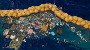 Invention by a 25-year-old is finally catching trash in the Great Pacific Garbage Patch