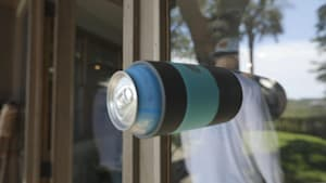Prevent spills with this Non-Tipping Can Cooler