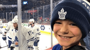 Meat Company Pulls Through For 8-Year-Old Leafs Fan Devastated By Cake