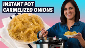 How to make caramelized onions in the Instant Pot