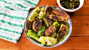 Low-carb cabbage dumplings = high flavor