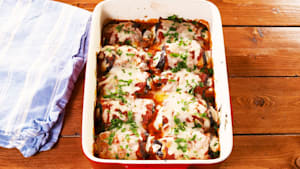 Eggplant manicotti will help you stay on track
