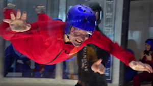Jean Chrétien Goes Indoor Skydiving For His 86th Birthday