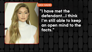 Is Gigi Hadid going to be a juror on the Harvey Weinstein trial?