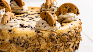 2-In-1 cookie dough cheesecake is delicious