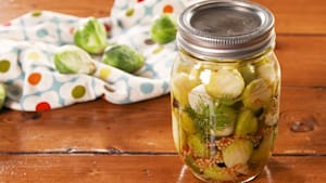 You need to try these pickled brussels