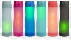This smart water bottle glows and so will you!
