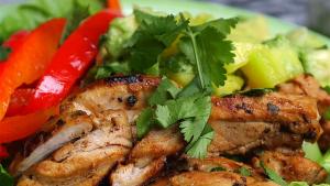 Best Bites: Cilantro Lime Chicken with Mango Avocado Salsa