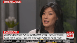 Andrew Yang's wife reveals doctor assaulted her