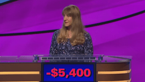 Nervous 'Jeopardy!' contestant receives support