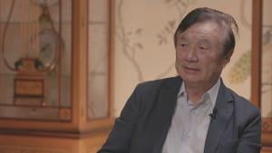 Huawei-Gründer gegenüber euronews: Niemals Spionage betrieben