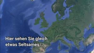 Google-Earth: Mysteriöse Entdeckung in England - Cerne Abbas Giant