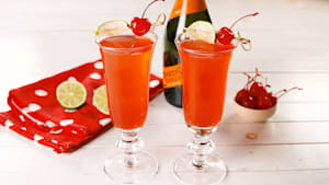 How to make Shirley Temple mimosas