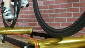 Indoor cycling roller is incredibly stable