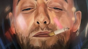 The artist behind viral painting of late rappers