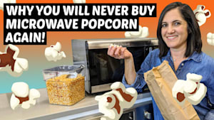 Upgrade from your regular microwave popcorn