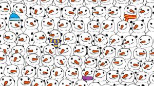 In diesem Bild hat sich ein Panda versteckt: Kannst du ihn entdecken?