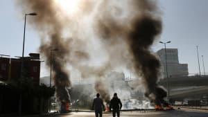 Regierungskrise im Libanon: Proteste und Ausschreitungen