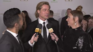 Brad Pitt jokes about his dance moves