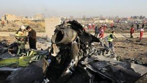Bericht des Iran: 2 Raketen trafen ukrainisches Passagierflugzeug