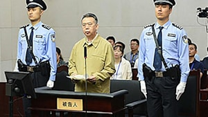 Ex-Interpol-Chef in China zu 13 Jahren Haft verurteilt