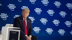 Trump in Davos im Wahlkampfmodus